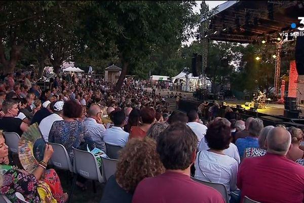 À Patrimonio, la 30e édition des nuits de la guitare bat son plein. Les concerts s'enchaînent drainant un public important.