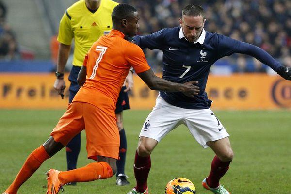 France-Pays Bas, le 5 mars dernier au Stade de France, restera le dernier match de Franck Ribéry avec l'équipe de France.