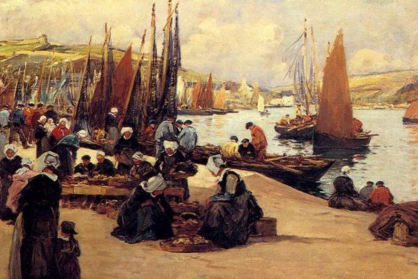 Peintres de marine et historiens se sont rarement intéressés aux femmes de marins