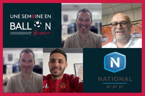 Philippe Jan, président du Stade Lavallois et Hamza Hafidi, milieu de terrain du Mans FC sont les invités de ce nouveau numéro d'Une Semaine en Ballon