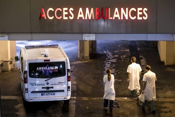 L'entrée des urgences, à Paris - Photo d'illustration