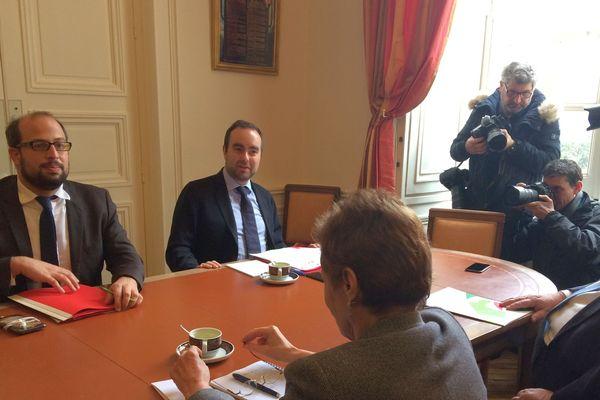 Le secrétaire d'Etat à la Transition écologique reçu à la préfecture de Nantes