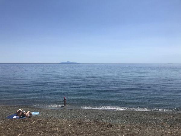 Illustration / En cas d'ouverture des plages, certains maires redoutent qu'elles attirent beaucoup plus de monde que sur notre photo