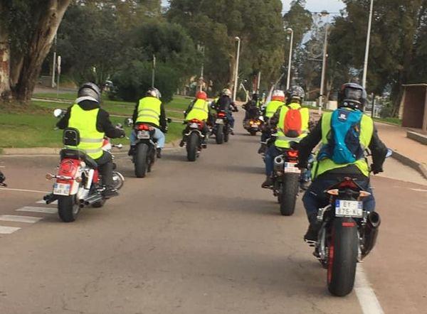 À Porto-Vecchio, les motards ont rallié le mouvement gilets jaunes.