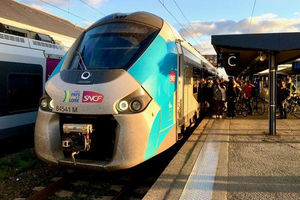 En 2024, le logo de la SNCF pourra être remplacé par celui d'un de ses concurrents sur les trains TER des Pays de la Loire