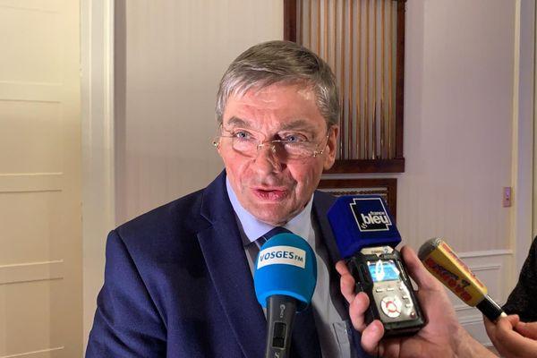 François Vannson (LR) s'est fait réélire dans son canton de Remiremont, et avec lui une grande majorité de droite et du centre.