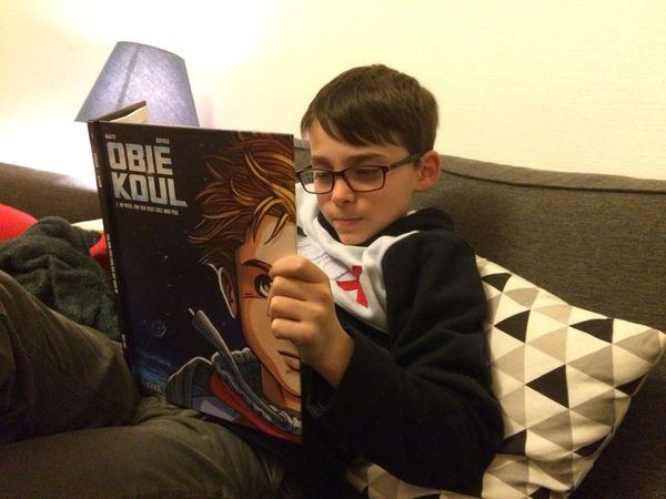 On ne pourra pas déranger Maxime pendant sa lecture de Obie Koul.