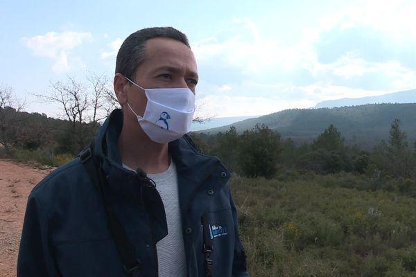 Amine Flitti, directeur de la Ligue pour la protection des oiseaux (LPO) PACA.