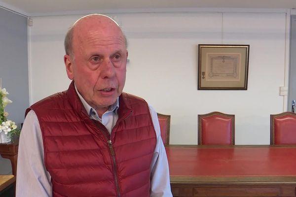Joël Wilmotte, le maire (LR) d'Hautmont.