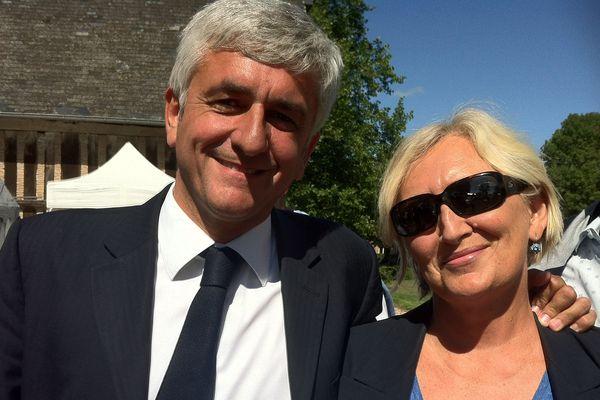 Avec Hervé Morin