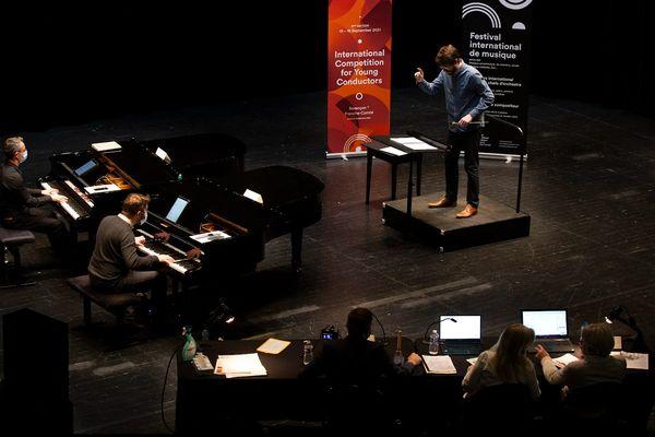 57ème Concours de Jeunes Chefs d'Orchestre 2021 : Le Grand Prix de Direction sera décerné samedi 18 septembre.