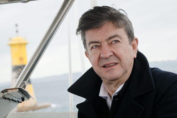 Jean-Luc Mélenchon, à Marseille le 3 novembre 2015
