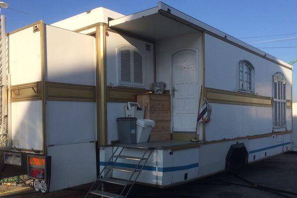 La présence de caravanes d'habitation sur le champ de foire pourrait entraîner des problèmes de sécurité rappelle la mairie de Rouen
