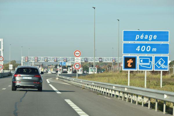 Péage autoroute