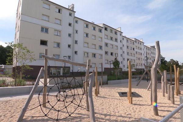 """Cleunay à Rennes, est à la fois le plus vieux quartier classé """"Quartier prioritaire de la politique de la Ville"""" mais aussi le plus petit, car seule une petite partie du secteur est considérée comme socialement défavorisée. Le 13 septembre 2021"""