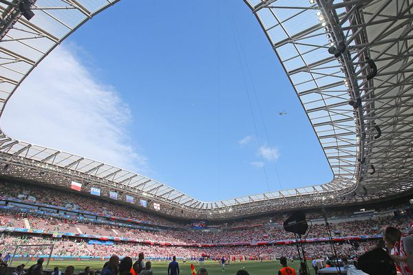 La stade Allianz Riviera à Nice