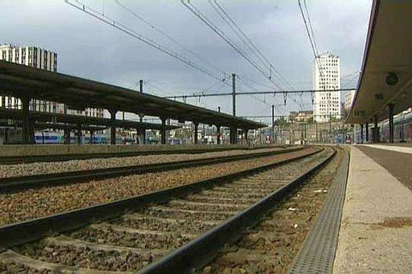 La gare SNCF de Dijon