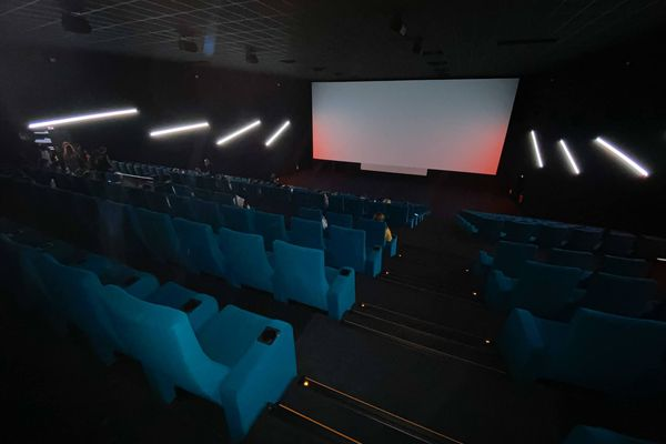 La salle Aurore, dans le Cineum de Cannes.