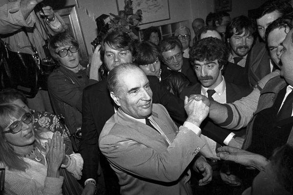 Le 10 mai 1981 François Mitterrand est élu Président de la République.