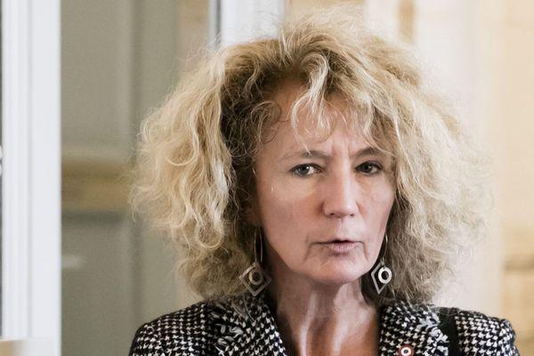 Martine Wonner à l'Assemblée nationale, le 2 avril 2019