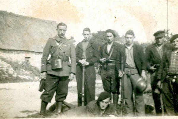 Des résistants en 1944