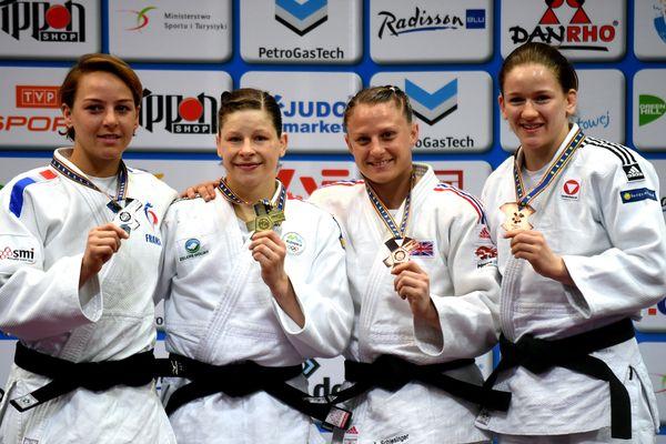 Médaille d'argent : Margaux Pinot (France). Or : Tina Trstenjak (Slovénie). Bronze : Alice Schlesinger (Grande-Bretagne). Kathrin Unterwurzacher (Autriche).