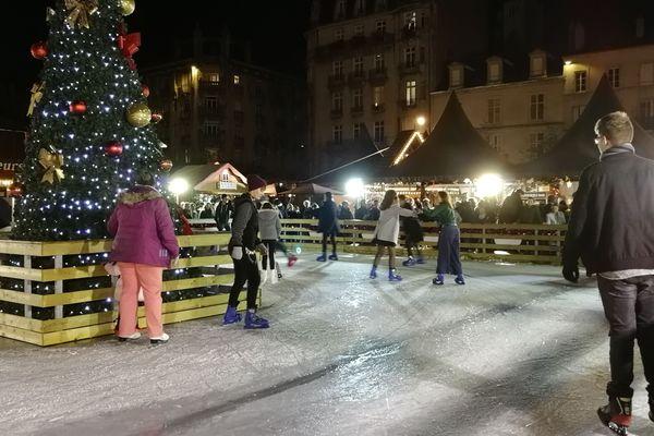 La patinoire est l'un des endroits préféré des enfants
