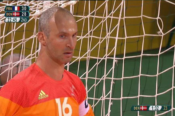 Thierry Omeyer, gardien de but des handballeurs français