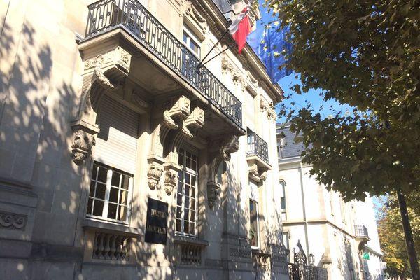 Le tribunal administratif, avenue de la paix à Strasbourg