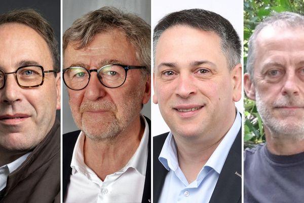 Les électeurs de Saint-Pierre-des-Corps auront le choix entre quatre noms : Michel Soulas (PCF), Emmanuel François (SE), Cyrille Jeanneau (PS) et François Lefèvre (Citoyens ECOLO).