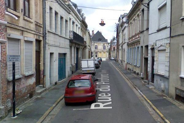 Les faits d'une rare violence ont été commis rue du Profond Sens à Valenciennes