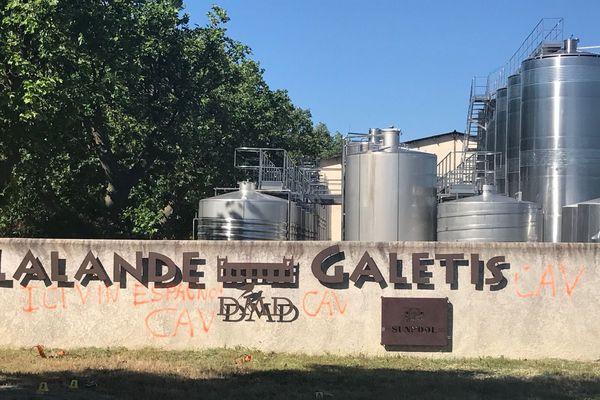 Le domaine de Lalande visité par le CAV à Pennautier dans l'Aude