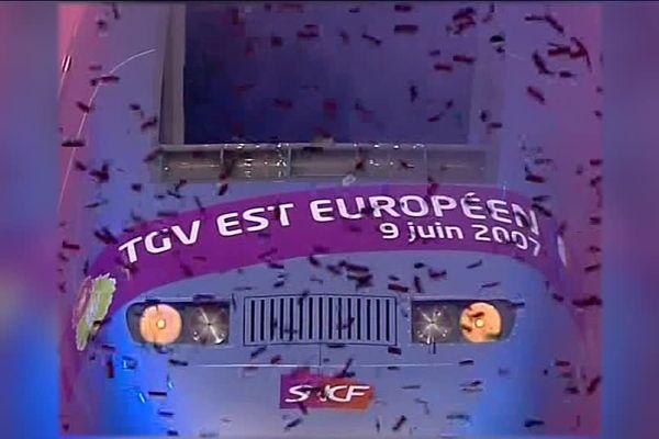 Le TGV Est fête ses 10 ans !