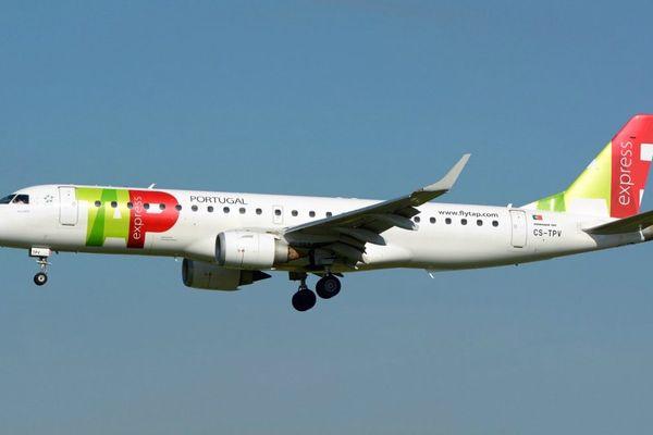 C'est cet avion de la compagnie portugaise Portuguesa de Transportes Aereos S.A. qui s'est retrouvé en mauvaise posture.