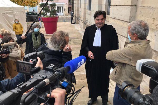 Randall Schwerdorffer, l'avocat de Jonathann Daval, a multiplié les prises de parole tout au long de l'affaire.