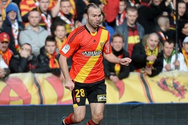 Daniel Ljuboja (ici en février face à Laval) a marqué le troisième but lensois hier soir contre Arles-Avignon.