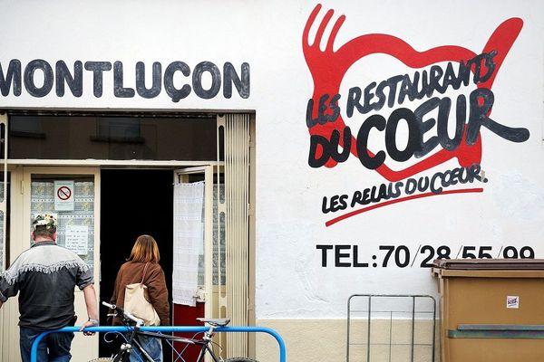 Dans l'Allier, plusieurs centres de distribution des Restos du Coeur seront fermés jusqu'à nouvel ordre, en raison de l'épidémie de Coronavirus COVID-19.