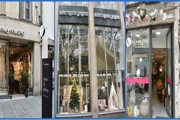 Les boutiques de décoration Muy Mucho, Sostrene Grene et Ver'Autre Chose, implantées à Nancy, ont relevé le défi d'une décoration de Noël pour un budget de 80 euros.