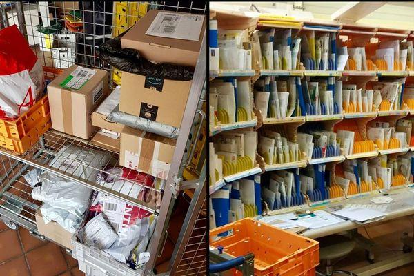 Le courrier et les colis qui n'ont pas pu être livrés ces derniers jours