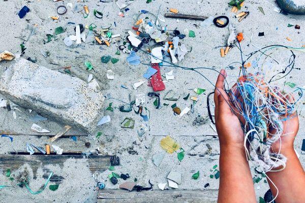 Les déchets d'engins de pêche retrouvés sur le littoral