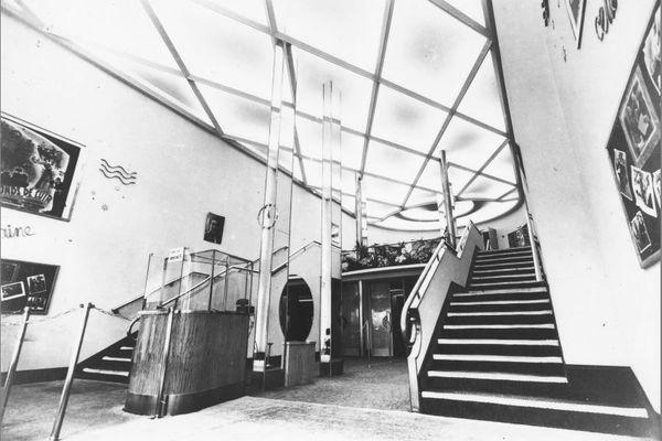 Scala 1936 : hall d'entrée du cinéma car a cette époque La Scala était un cinéma !