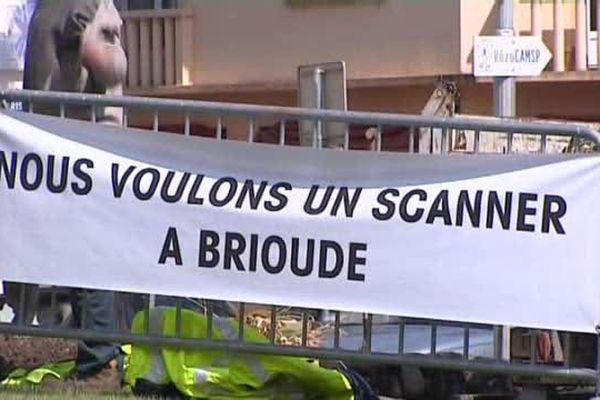 La population de Brioude se mobilise pour obtenir un scanner, une marche est organisée le 30 mai.