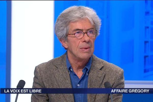 Jean-Michel Lambert, sur le plateau de France 3 Pays de la Loire, le 18 octobre 2014.
