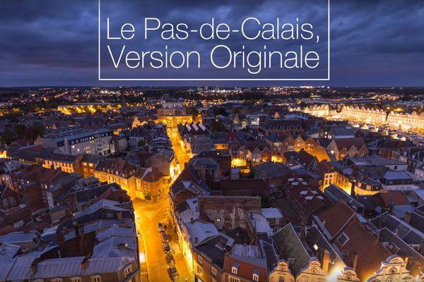 La vidéo est une succession d'images représentant le Pas-de-Calais.