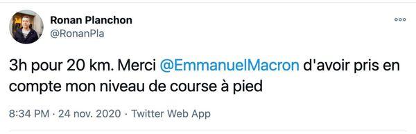 L'humour n'a pas tardé après les annonces d'Emmanuel Macron ce 24 novembre.