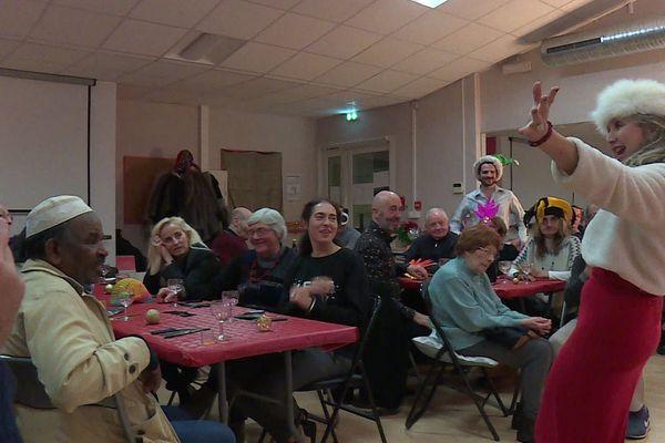 Commencer l'année en beauté, et surtout en solidarité, pari réussi pour les Petits frères des pauvres à Montpellier