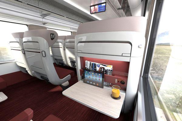 Le groupe CAF promet un niveau élevé de services et de confort pour les voyageurs de la ligne POLT.
