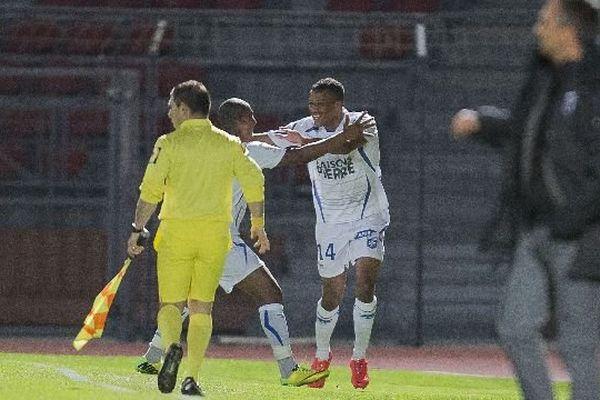 L'attaquant auxerrois Alassane Plea avait déjà marqué un but lors du match Créteil-Auxerre le 21 mars 2014
