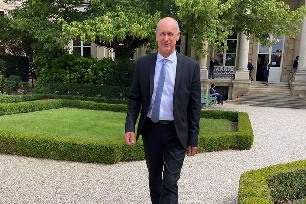 Premiers pas à l'Assemblée nationale pour Jean-Luc Bourgeaux, nouveau député LR de Saint-Malo.