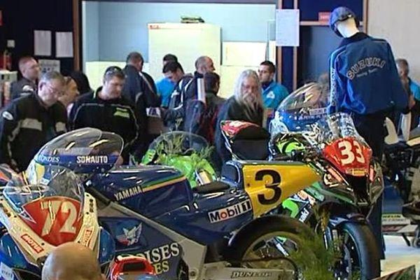 Le salon de la moto de compétition à Chevilly, le 6 février 2016.
